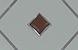 Матовое, коричневый ромб